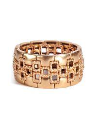 Philippe Audibert - Metallic Gold Plated Cuff - Lyst