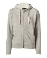 Polo Ralph Lauren   Gray Light Sport Heather Classic Athletic Hoodie Jacket for Men   Lyst
