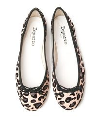 Repetto - Multicolor Bb Leopard Ballet Flat - Lyst