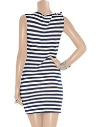 Vivienne Westwood Anglomania - Blue Dione Striped Jersey Dress - Lyst