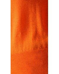 Acne Studios - Orange Lia Fine-knit Cashmere Sweater - Lyst