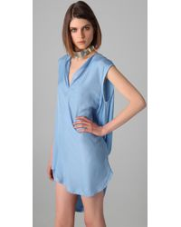 By Malene Birger | Blue Myras Draped Dress | Lyst