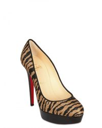 Christian Louboutin - Multicolor 140mm Bianca Panama Pumps - Lyst