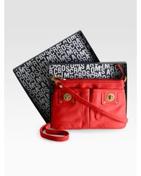 Marc By Marc Jacobs | Red Totally Turnlock Percy Mini Bag | Lyst
