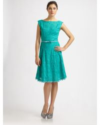 Nanette Lepore | Blue Balloon Dress | Lyst