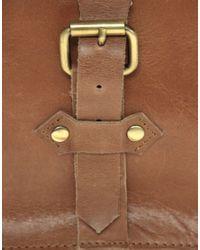 ASOS | Brown Leather Old Boy Satchel for Men | Lyst