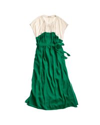 Madewell | Green Cabana Dress | Lyst