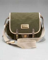 Marc By Marc Jacobs - Black Metallic Military General Crossbody Messenger Bag - Lyst