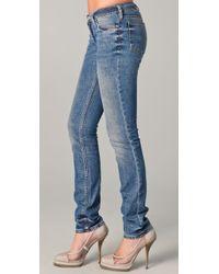Acne Studios | Blue Kex Skinny Jeans | Lyst