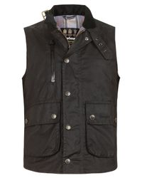 Barbour | Brown Black Beacon International Waistcoat for Men | Lyst