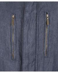Barbour | Blue Navy Mount Shirt Jacket for Men | Lyst