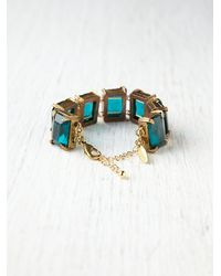 Free People - Green Wakulla Bracelet - Lyst