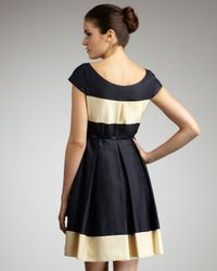 kate spade new york - Blue Addete Colorblock Dress - Lyst