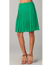 Nanette Lepore - Green Desirable Skirt - Lyst
