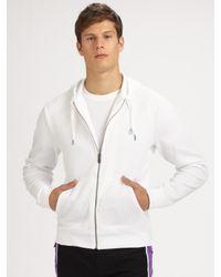 Original Penguin - White Waffle-knit Hoodie for Men - Lyst