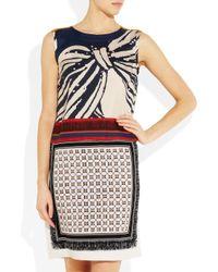 Vionnet | Multicolor Printed Silk-twill Dress | Lyst