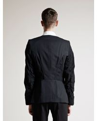 Ann Demeulemeester - Black Mens Phantom Jacket for Men - Lyst