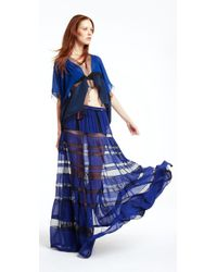 BCBGMAXAZRIA | Blue The Letesia Skirt | Lyst