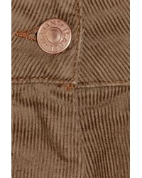 Isabel Marant - Natural Rooney Stretch-corduroy Shorts - Lyst
