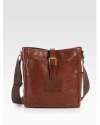 Ralph Lauren | Orange Deerfield Leather Canteen Bag for Men | Lyst