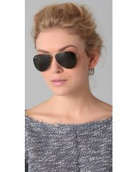 Ray-Ban | Multicolor Light Ray Aviator Flip Out Sunglasses | Lyst