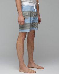 RVCA | Blue Civil Stripe 18 Inch for Men | Lyst