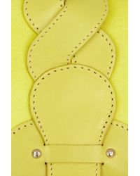 See By Chloé - Yellow Twirl Leather Shoulder Bag - Lyst