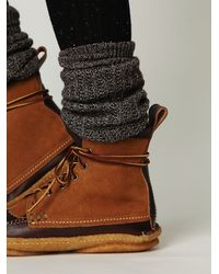 Free People | Brown Mendocino Hunt Boot | Lyst