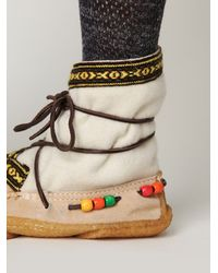 Free People | White Alaskan Cree Boot | Lyst