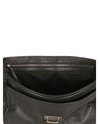 Ann Demeulemeester - Black Leather Messenger Bag for Men - Lyst