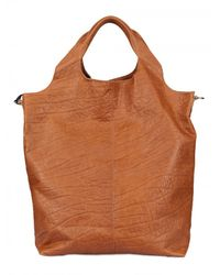Diverso Italiano - Brown Raffaella Leather Top Handle - Lyst