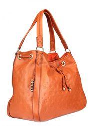 Lancel | Brown Dali Cius Leather Shoulder Bag | Lyst