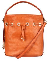 Lancel | Brown Dali Gala Leather Shoulder Bag | Lyst