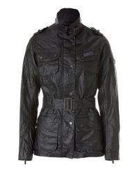 Barbour   Green Tartan Lined Duralinen International Jacket   Lyst
