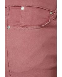 TOPSHOP - Pink Supersoft Skinny Leigh Jeans - Lyst