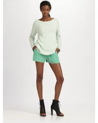 Acne Studios | Green Ry Angora Knit Sweater | Lyst