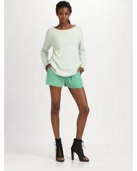 Acne Studios - Green Ry Angora Knit Sweater - Lyst