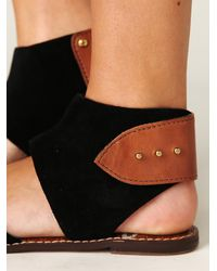 Free People | Black Havana Sandal | Lyst