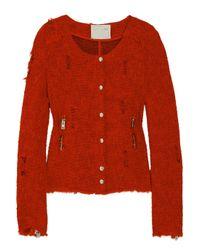 IRO - Red Agnette Jacket - Lyst
