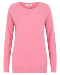 Acne | Pink Ry Angora Jumper | Lyst