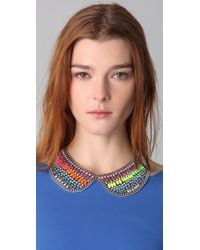 DANNIJO - Multicolor Hixson Collar Necklace - Lyst