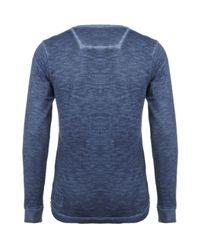 DIESEL | Blue Antic Indigo T-shirt for Men | Lyst