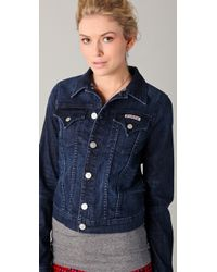 Hudson Jeans - Blue The Signature Jean Jacket - Lyst