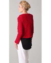 IRO | Red Agnette Jacket | Lyst