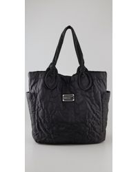 Marc By Marc Jacobs | Black Pretty Nylon Medium Tate Tote | Lyst