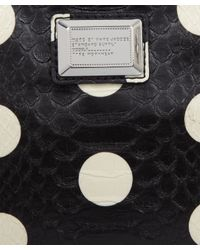 Marc By Marc Jacobs - Small Black Polka Dot Snakeskin Pouch - Lyst