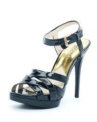 Michael Kors | Black Keli Sandal | Lyst