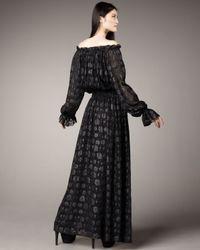 Rachel Zoe | Black Diane Blouson Maxi Dress | Lyst