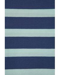 TOPSHOP - Blue Stripe Tee - Lyst