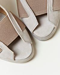 Damir Doma - Natural Womens Femini Wedge Sandals - Lyst